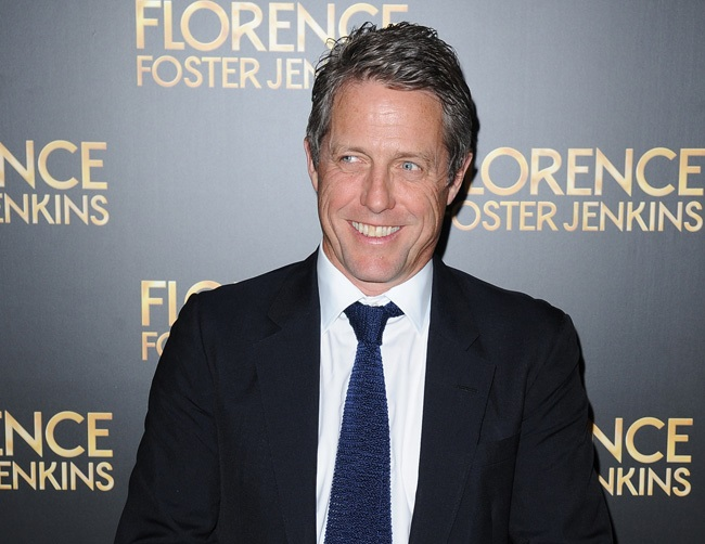 Hugh Grant loves filming sex scenes