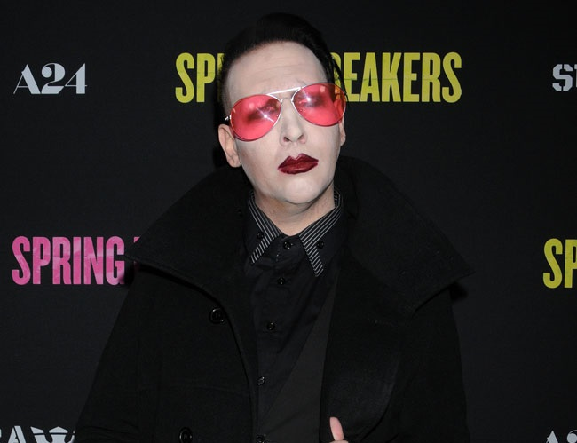 Marilyn Manson looking to date a nice, understanding girl