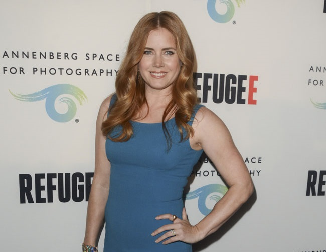 Amy Adams says motherhood has empowered her