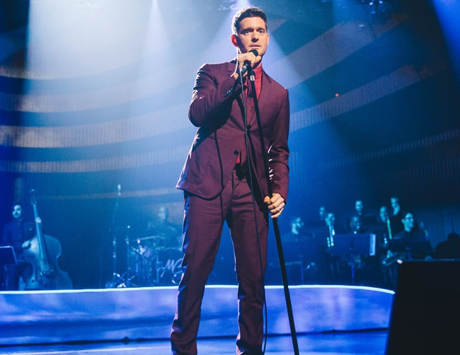 Michael Bublé has put his career on hold