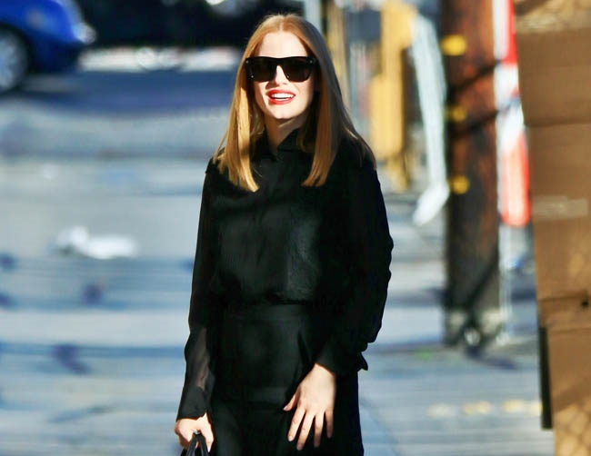 Jessica Chastain may take a break from acting
