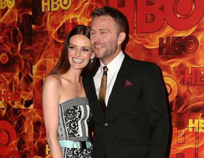 Chris Hardwick and Lydia Hearst get married