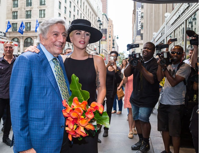 Tony Bennett praises Lady Gaga's natural talents