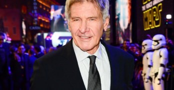 Harrison Ford pays tribute to Carrie Fisher