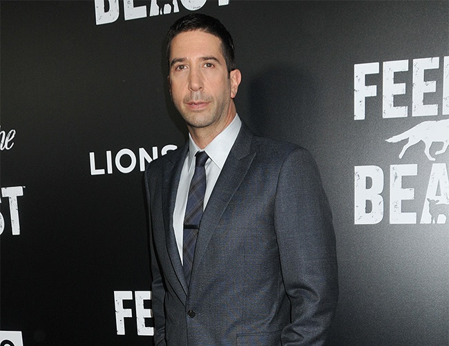David Schwimmer on coping with fame and unwanted attention