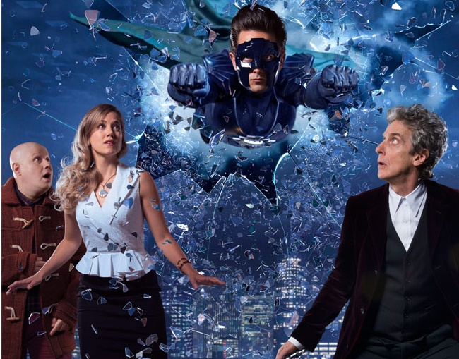 Peter Capaldi compares 'Doctor Who' Christmas special to classic superhero films