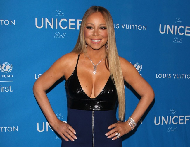 Mariah Carey asks James Packer for career advice