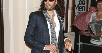 Russell Brand is thrilled to be a dad