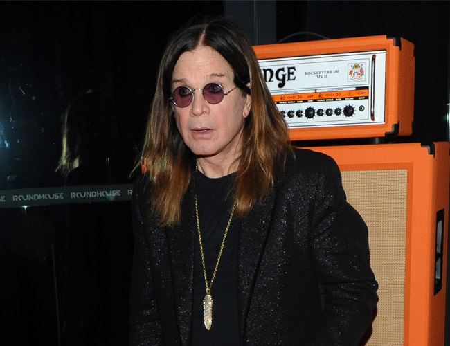 Ozzy Osbourne says he slept through his driving test