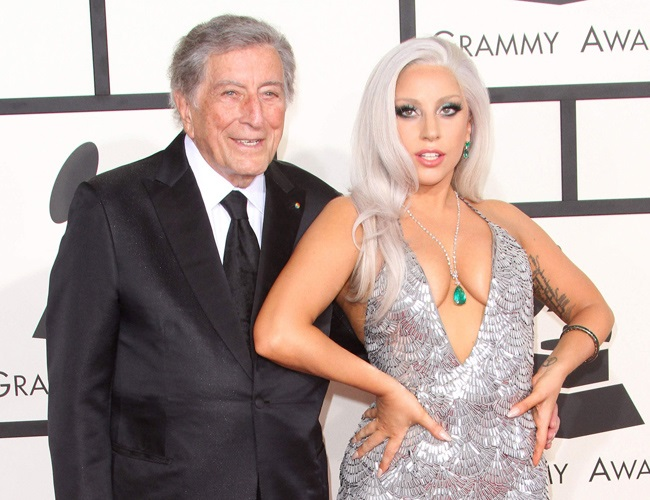 Lady Gaga looks to Tony Bennett for love advice