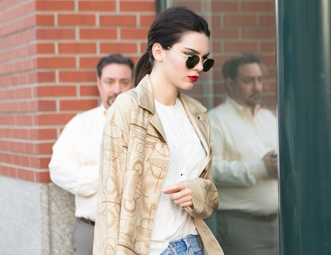 Kendall Jenner splits from Harry Styles