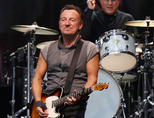 Bruce Springsteen is a big Kanye West fan