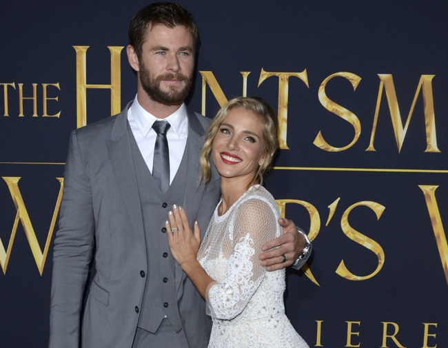 Elsa Pataky praises Chris Hemsworth