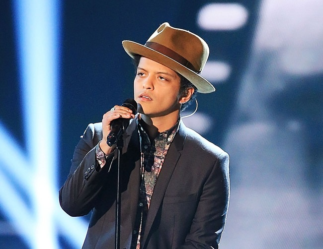 Bruno Mars still thinks about Prince