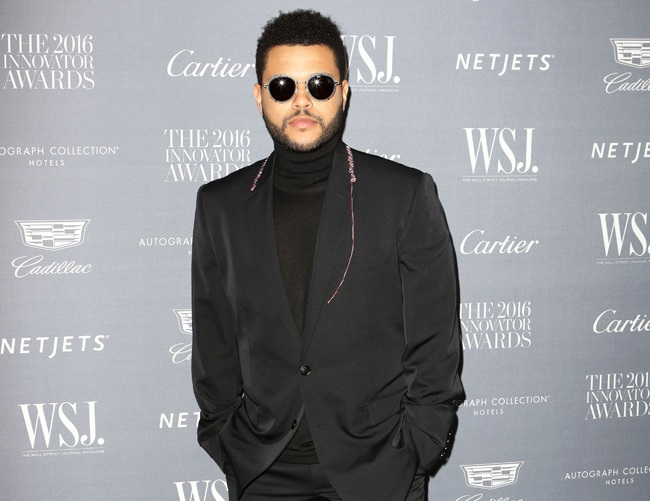 The Weeknd relies on drugs to focus on his music
