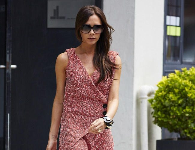 Victoria Beckham uses the power of crystals for positive energy