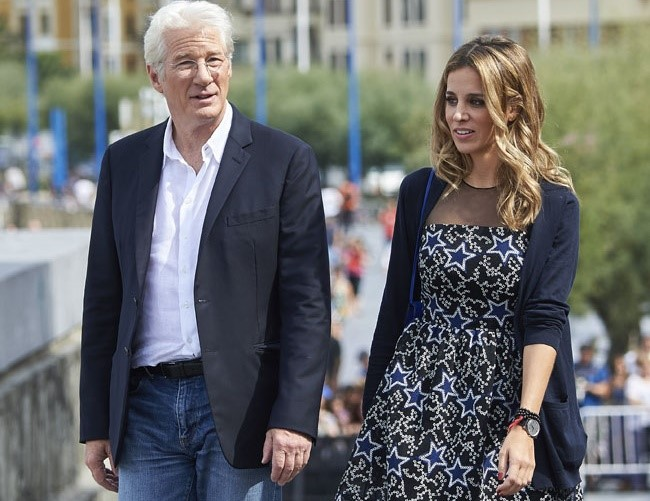 Richard Gere and Alejandra Silva insist destiny brought them together