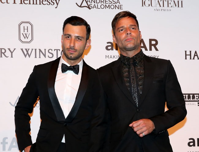 Ricky Martin is now engaged