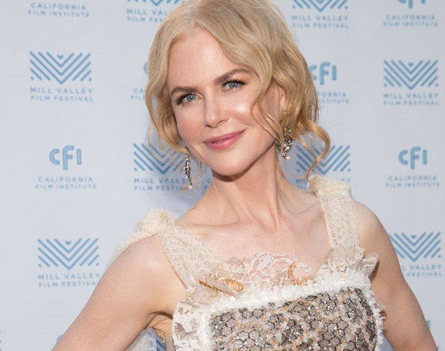 Nicole Kidman says she's the caretaker in the family