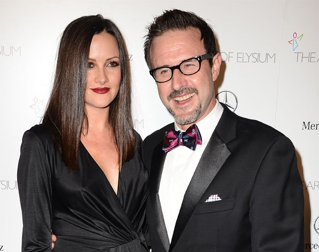 David Arquette: My wife is my hero