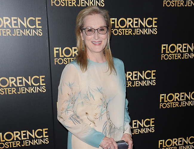 Meryl Streep is eager to play Hillary Clinton in biopic