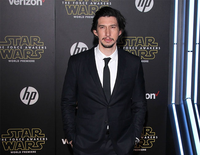 Adam Driver praises 'Star Wars Episode VIII' director