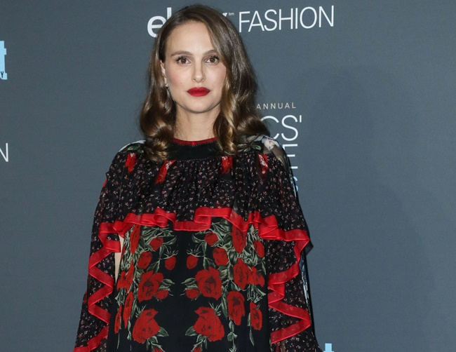 Natalie Portman discusses gender pay gap in Hollywood