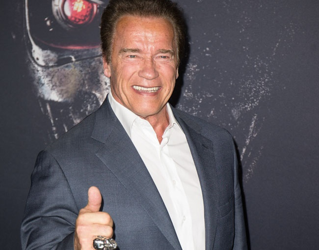Arnold Schwarzenegger wished to become US president