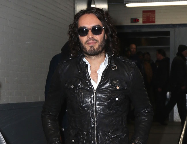 Russell Brand is a new dad