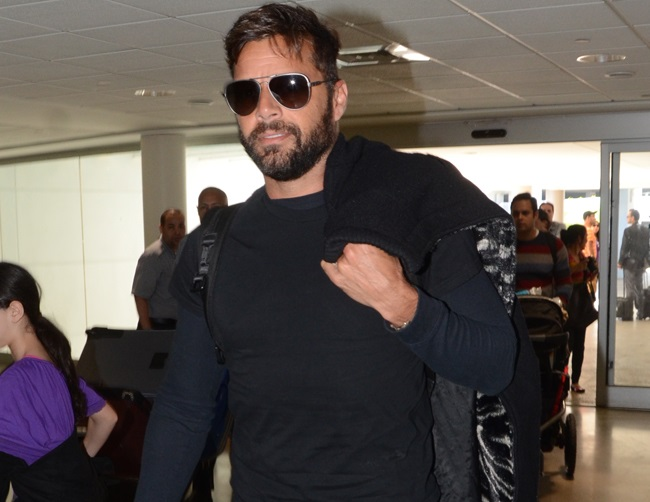 "Ricky Martin plans for a ""crazy and loud"" wedding"