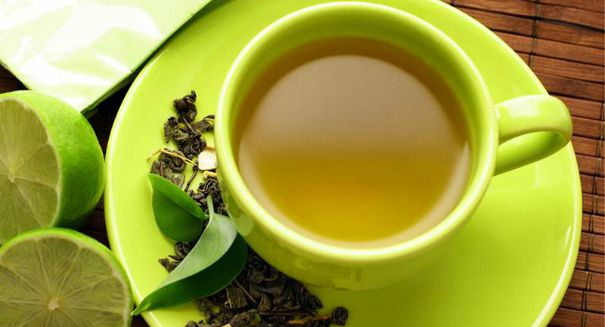 Drinking green tea has huge benefits
