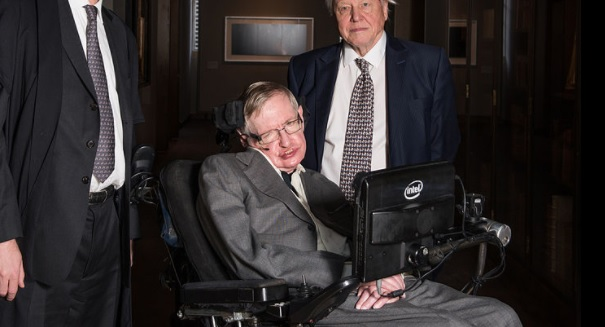 Stephen Hawking just ripped someone, and you'll never guess who