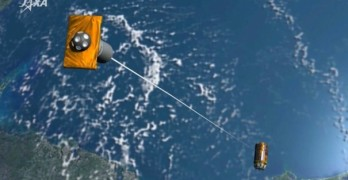 Japan launches attack on an enemy in space