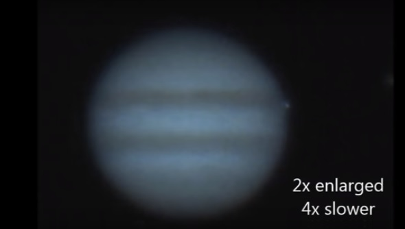 Astonishing video: Something just smashed into Jupiter [VIDEO]
