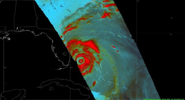 Stunning image of Hurricane Matthew will blow your mind