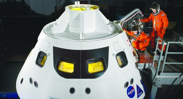 NASA's Orion space capsule tests parachutes this week