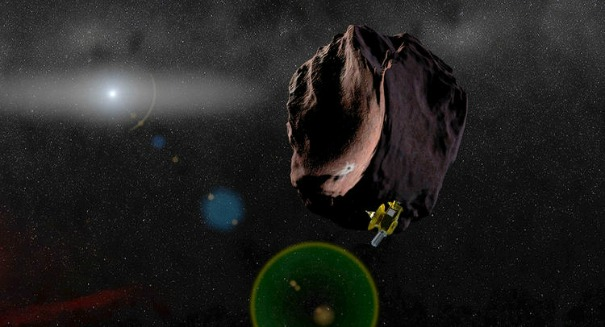 NASA's New Horizons spacecraft is speeding toward a mysterious object past Pluto