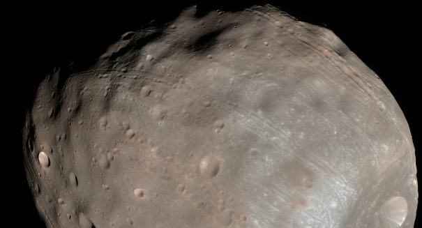 How Mars is destroying its own moon