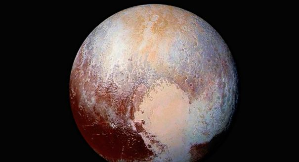 NASA spacecraft captures evidence of frozen methane dunes on Pluto