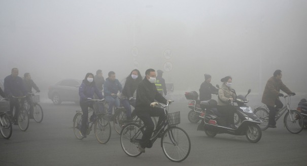 Red Alert in China: The smog is getting ridiculously bad