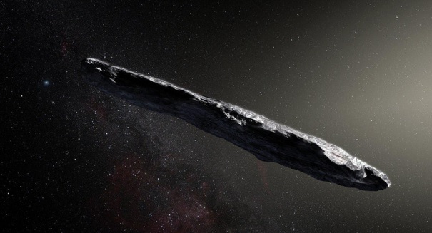 Violent collision sent mysterious space cigar spinning out of control