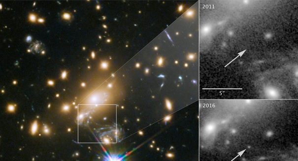 Scientists spot star 9 billion light years away