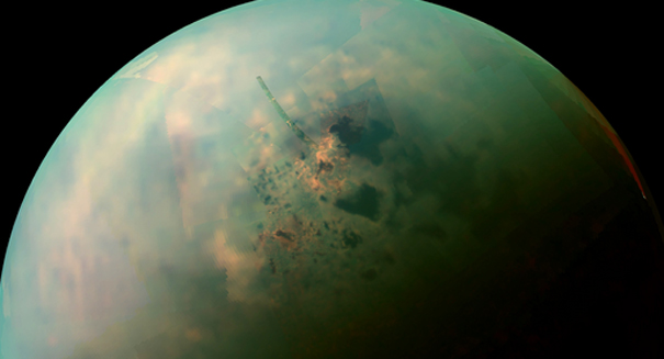 Scientists stunned to find massive mountain on Titan