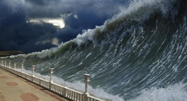 Huge tsunami may be about to strike Hawaii